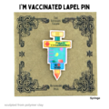 Selling with online payment: Fully Vaccinated Syringe Lapel Pin