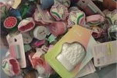 Liquidation/Wholesale Lot: Kids bath bombs and accessories