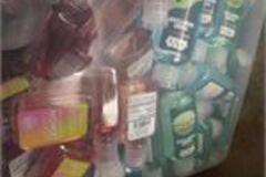 Liquidation/Wholesale Lot: Sanitizer lot