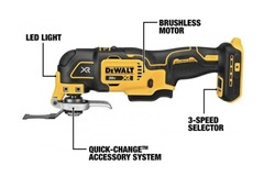 For Sale: DEWALT DCS356 20-VOLT MAX XR BRUSHLESS 3 SPEED OSCILLATING