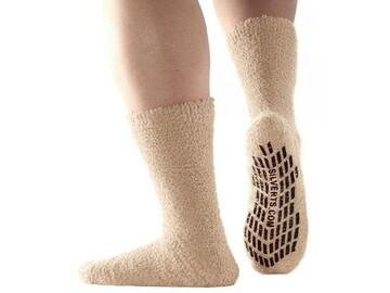 SALE: Best Gripper Hospital Socks Men & Women - Slipper Socks