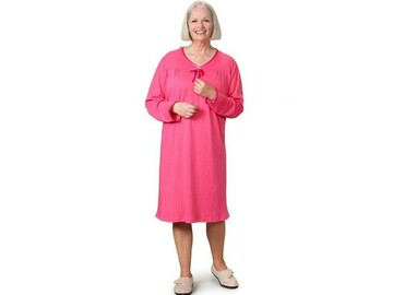 SALE: Women's Antimicrobial Open Back Nightgown