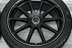 """Selling without online payment: 2019 Mercedes S63 AMG 20"""" OEM Rims, TPMS & Winter Tires 90%"""