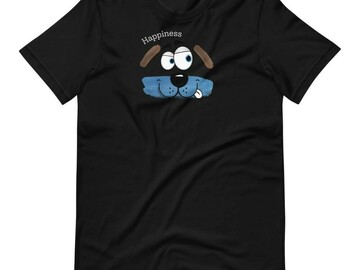 Selling: Happiness T-Shirt for Dog Lovers