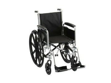 "SALE: Standard Economy Wheelchair Deluxe 18"""