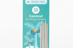 Selling: Coconut Straws - EQUO Sustainable Straws (50 Standard)