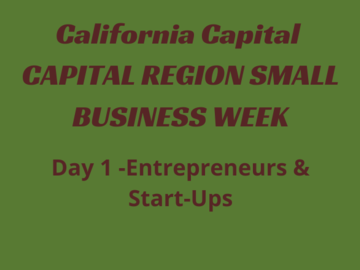 Announcement: Capital Region Small Business Week: Day One