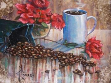 Sell Artworks: Fresh Coffee