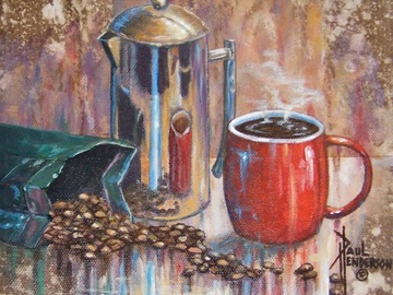 Sell Artworks: French Press