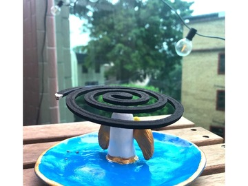 : Angel Mosquito Coil Holder