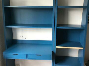 Vente: Bureau avec sa bibliothèque