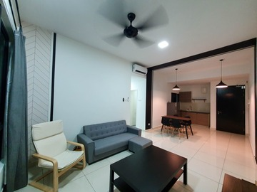 出租: Fully Furnished, Kiara Plaza Semenyih