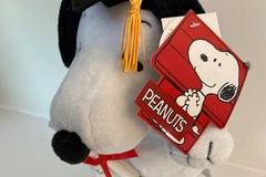 Liquidation/Wholesale Lot: Peanuts Snoopy Graduation Plush Dog Walk Plays Pomp & Circumstanc