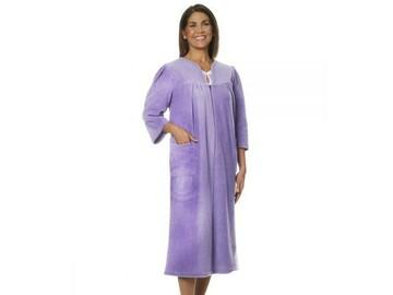 SALE: Womens Adaptive Fleece Housecoat