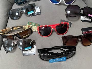 Liquidation/Wholesale Lot: 25 prs-Foster Grant Sunglasses; $12.00-$25.00 retail- $2.99 pr