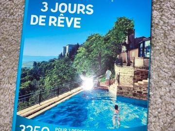 """Vente: Coffret Wonderbox """"3 jours de rêves"""" (119,90€)"""
