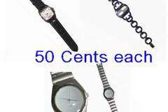 Liquidation/Wholesale Lot: 200 Cherrydale Watches-Needs New Batteries, easy to change-50cts