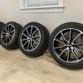 "Selling: BBS 19"" 512 Wheels w Michelin 255 / 45 A19 Pilot Alpin Winter Tir"