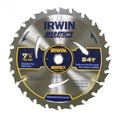 For Sale: IRWIN 184MM 24T WELDTEC CONSTRUCTION CIRCULAR SAW BLADE