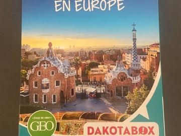 """Vente: Cooffret Dakotabox """"2 jours en Europe"""" (149,90€)"""