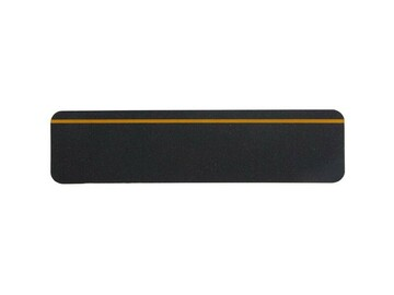 "SALE: Stop-the-Slip Non-Slip Grit Treads | Reflective Stripe | 24"" x 6"""