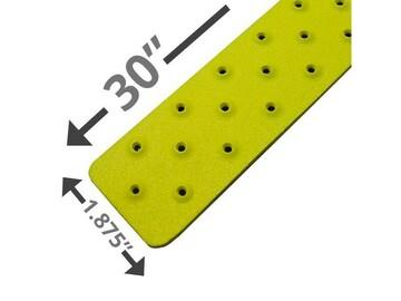 "SALE: Handi Treads Non-Slip Strip, Aluminum, Yellow | 30"" x 1.875"""