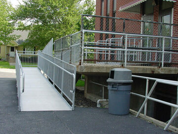 QUOTE: Aluminum Sectional Handicapped Wheelchair Ramps for Accessibility