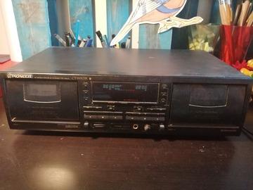 À vendre: Deck cassette pioneer