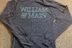 Selling A Singular Item: Extra Small, William and Mary Long Sleeve Shirt