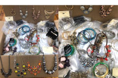 Liquidation/Wholesale Lot: 10 lbs Overstock Box Of Jewelry - All Brand New
