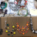 Liquidation/Wholesale Lot: 20 lbs Overstock Box Of Jewelry - All Brand New