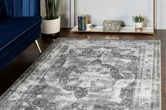 For Sale: 8x10 Monte Carlo Area Rug - Grey - Brand New, Still Packaged