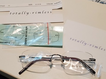 Selling with online payment: Totally Rimless 12 Piece Frame Kit