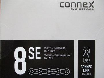 """Verkaufen: 8fach Kette """"Connex"""" stainless, 124Gl."""