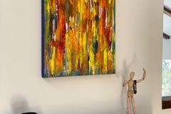 "For Sale: Hand Painted, Original Art: ""KAPOW"""
