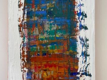 "For Sale: Hand Painted, Original Art: ""Dark Prism"""