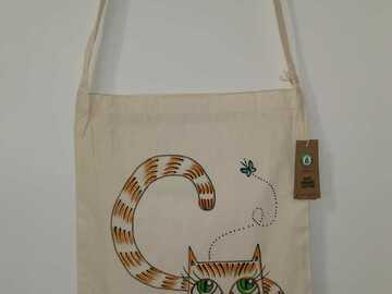 Myydään tavaraa tai tarvikkeita: Metsästäjä - Ainutlaatuinen käsinmaalattu laukku
