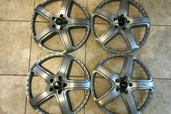 "Selling: 20"" Maya Trafficstar DLS Wheels Rims 5x112 20in Faces"