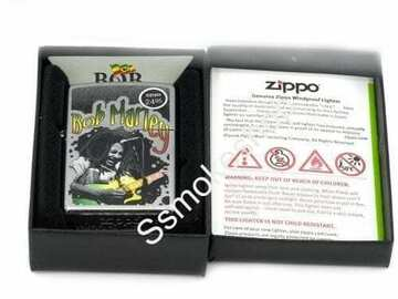 Post Now: Zippo Bob Marley 2 Lighter