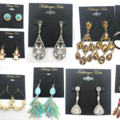 Liquidation/Wholesale Lot: 50 pair Katheryn Kent Earrings-Priced $29.00 Pair - $1,450.00