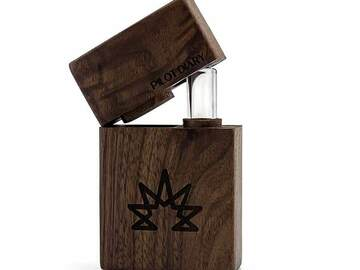 Post Now: Wood Dugout With Glass One Hitter