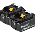 For Sale: MAKITA BL1860 18V 6.0AH LXT LITHIUM-ION BATTERY -2PK