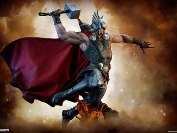 Stores: Marvel Comics Estatua Premium Format Thor Breaker of Brimstone 65