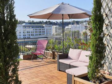NOS JARDINS A LOUER: Terrasse Rooftop vue panoramique Boulogne