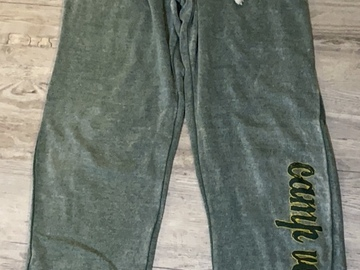 Selling A Singular Item: Camp Vega Sweatpants