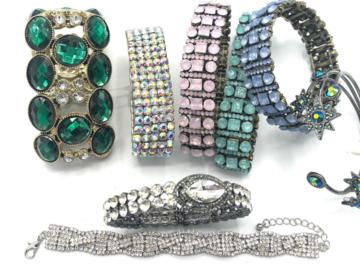 Liquidation/Wholesale Lot: 100 Boutique Bracelets Great Mix & Variety- Everyone Different