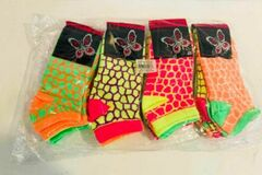 Liquidation/Wholesale Lot: Men's & Ladies' Fashion Socks, 500 Packs, New Condition, Est. Ori
