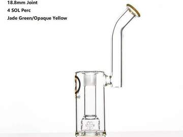 Post Now: 11.5 inch Dab Rig with 4 SOL Perc 18.8mm