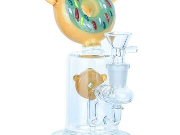 """Post Now: 6.5"""" Donut Theme Dab Rig"""