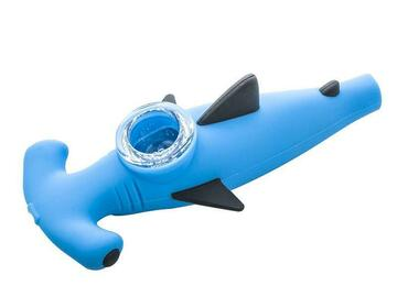 Post Now: Shark Silicone Hand Pipe (Random Color)